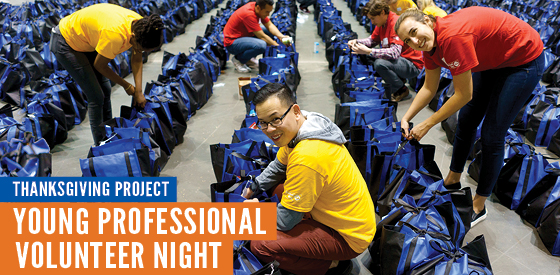Thanksgiving Project Young Professionals Night Masthead